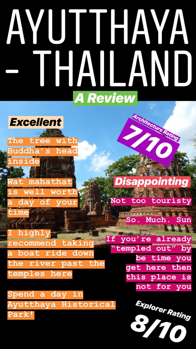good and bad things about Thailand reviewing the fun and not not fun stuff