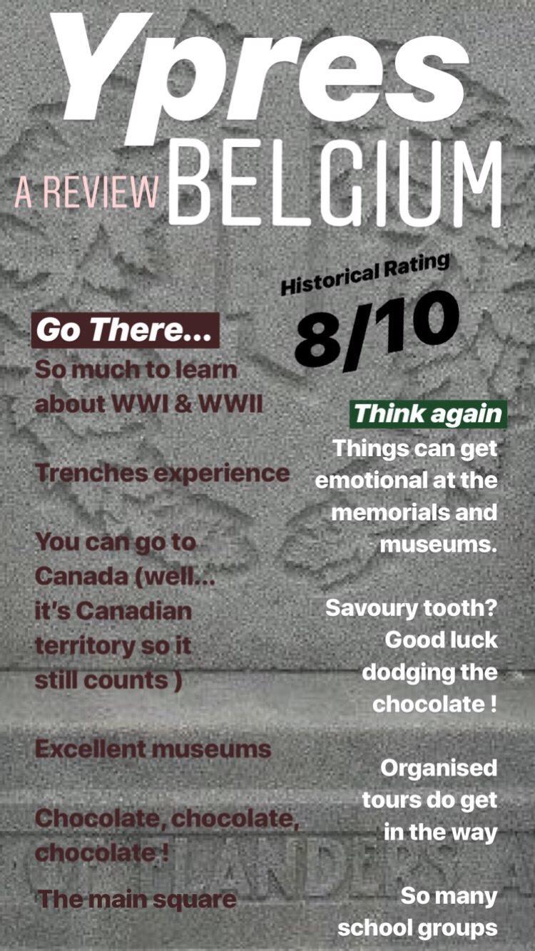 Ypres Belgium review