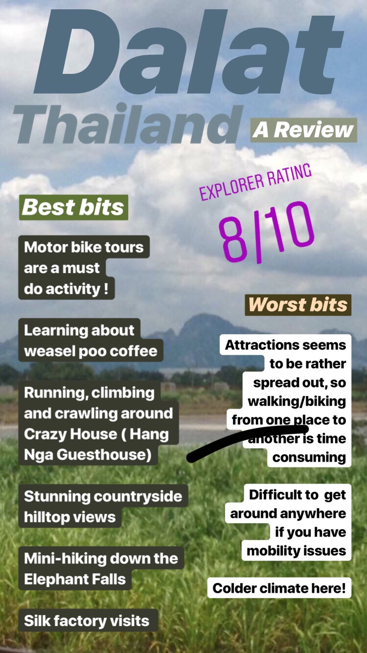 review the good and bad of Thailand and being there. Mini Review of the country