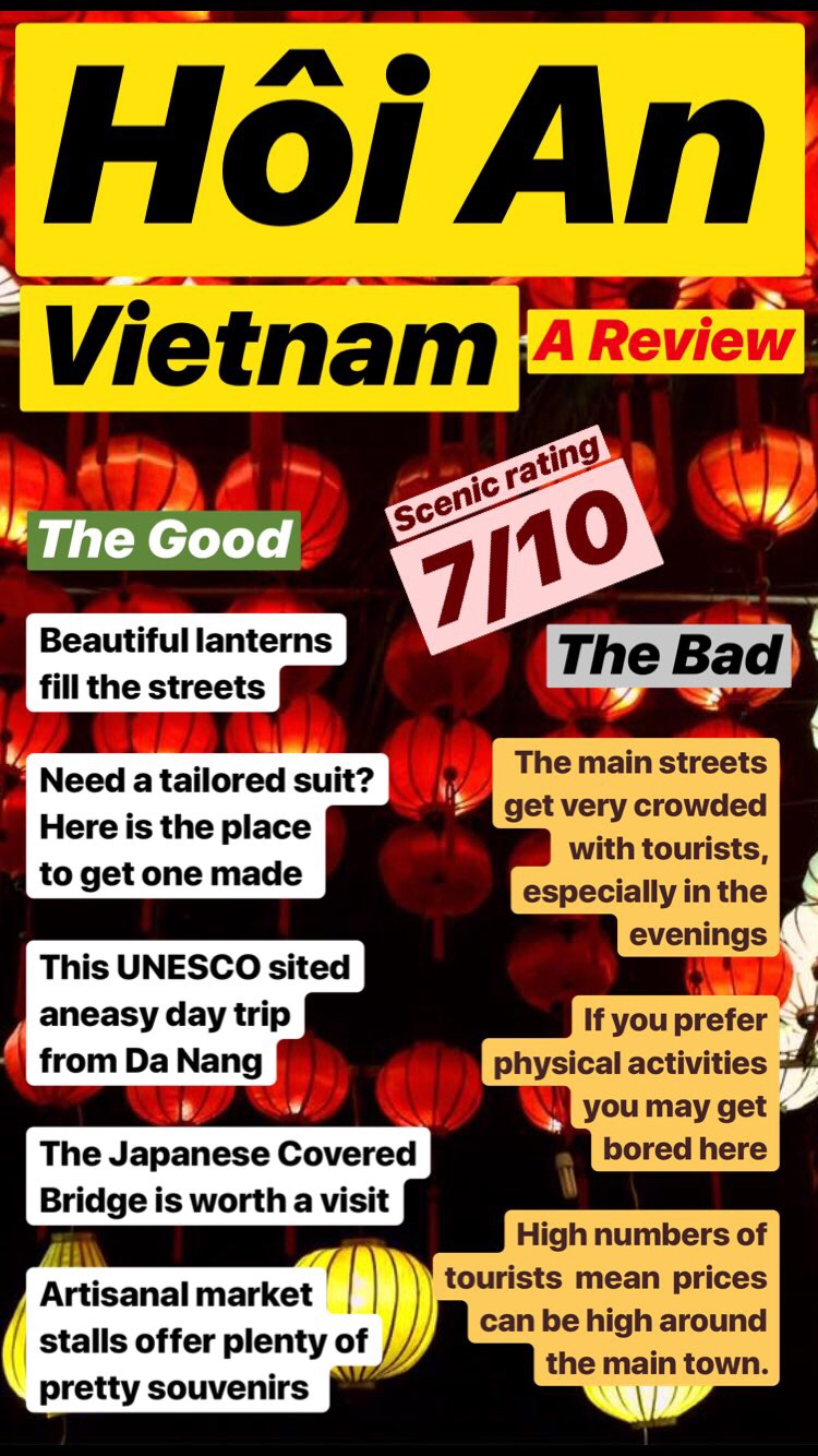 review the good and bad of Vietam and being there. Mini Review of the country
