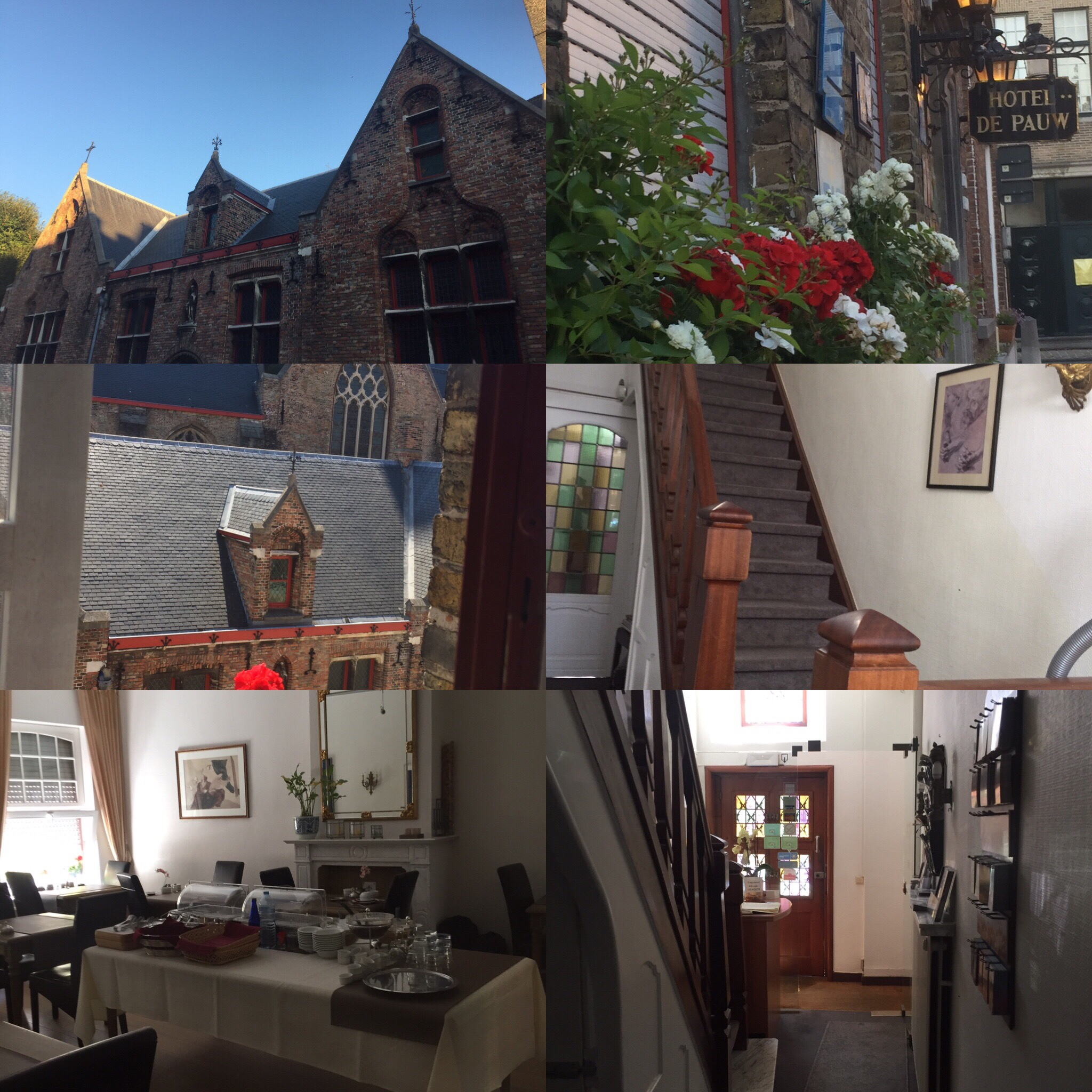 Hote de Paul in Belgium Bruges is small but charming