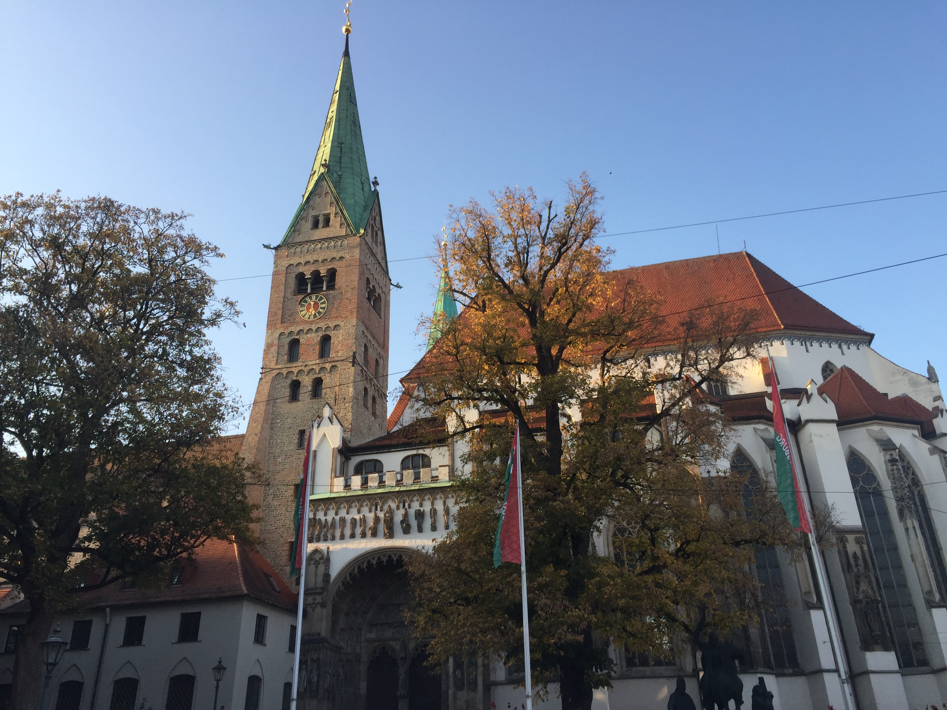 Augsburg cathedral Germany