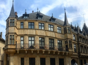 Grand duchal Palace luxembourg city