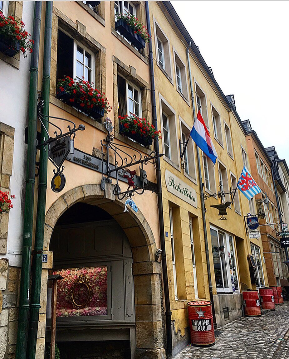 Street view in luxembourg