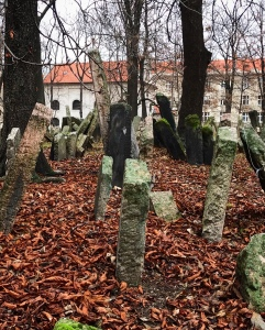 Visiting the Old Jewish Cemetery is a must in Prague